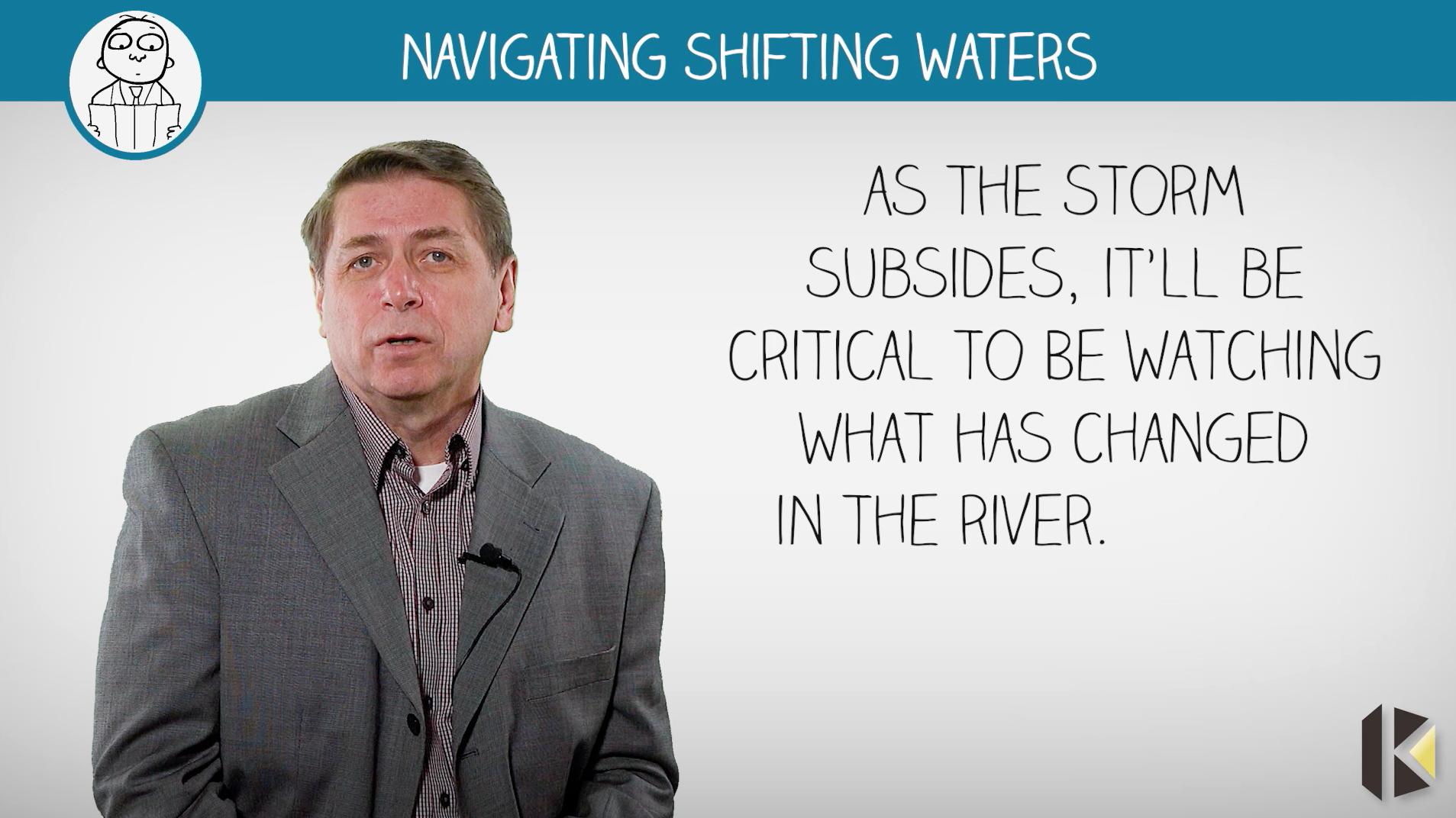 Darel Baker - Keldar Leadership - navigating shifting waters